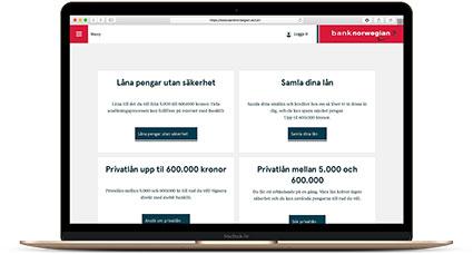 Bank Norwegian privatlån
